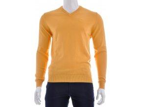 Žltý sveter - V výstrih