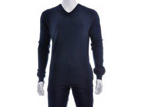 Tmavo modrý sveter