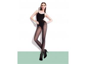 Pančuchy Nina 40 DEN. Hladké polokrycie pančuchové nohavice. Pekne kopírujú nohu. Pančuchy majú zosilnený sed a zosilnenú špičku. Pančuchové nohavice pohodlné, elastické, polomatné. 86% polyamid, 14% elastan. Vo farbe: black (čierna), Mocca , steel - oceľová, smoky.