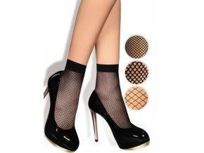 """Dámske sieťované ponožky typu """"kabaret"""". Ponožky so vzorom - väčšia mriežka. Bez zosilnenej špičky a bez zosilnenej päty, sieťované, tenké, vzdušné, univerzálna veľkosť one size"""