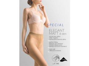 Matné pančuchové nohavice Special Elegant Matt, 8 DEN, Matné pančuchové nohavice, veľmi jemné s obsahom vlákna lycra., tenké, jednofarebné, priehľadné,  s bavlneným klinom, šité plochým švom