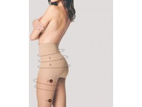 Tvarujúce pančuchy Body Care Comfort 20 DEN Supportimg tights, Sťahujúce a tvarujúce pančuchové nohavice korigujúce bruško, boky, zadok, stehná. Formujú postavu, vhodné pod obtiahnuté oblečenie. Pančuchy podporujúce krvný obeh, dodajú úľavu opuchnutým nohám.
