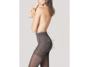 Fiore Total Slim 40 sťahujúce pančuchy 40 DEN. Pančuchové   nohavice korigujúce línii bruška a zpevňujúce postavu, zoštihľujúce,  tenké, priehľadné,