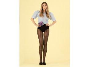 Dámske vzorované  pančuchy Tate Modern Fiore 20 den, Extravagantné pančuchové nohavice . Vhodné ku krátkej sukni, mini šatám. Skvelý doplnok do vášho šatníka. Pančuchové nohavice S geometrickým vzorom, moderné