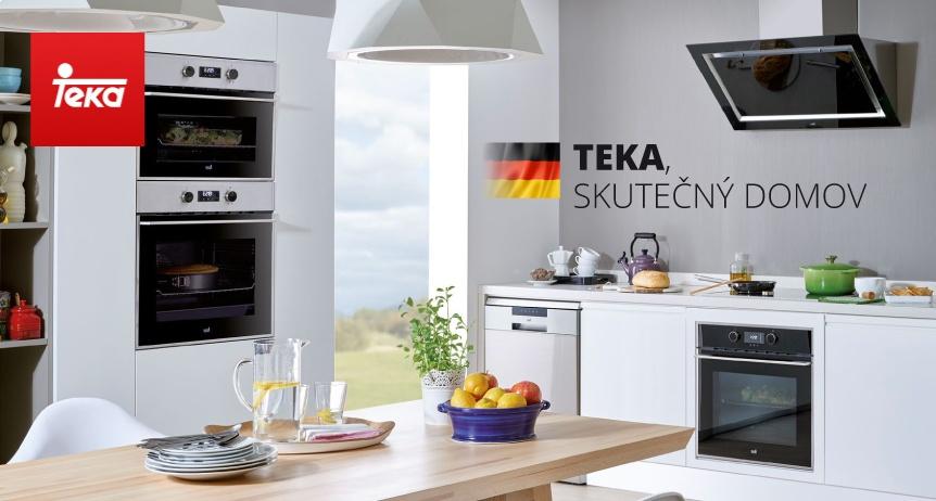 Kuchyň s spotřebiči Teka WISH