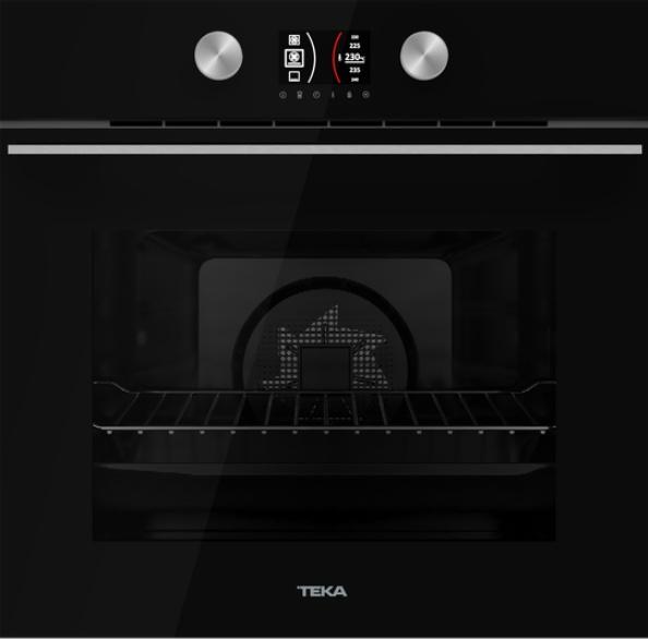 TEKA HLB 8600 U-Black černé sklo