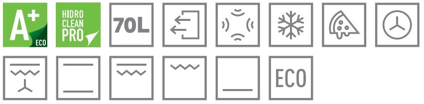 Teka HLB 8400 šedá ikony