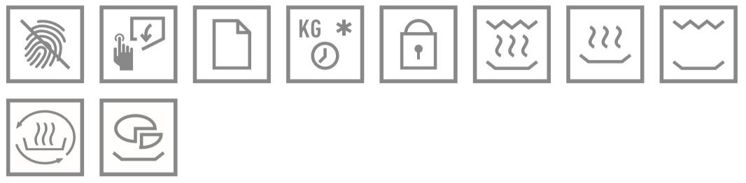 Teka ML 8220 BIS L ST šedá ikony