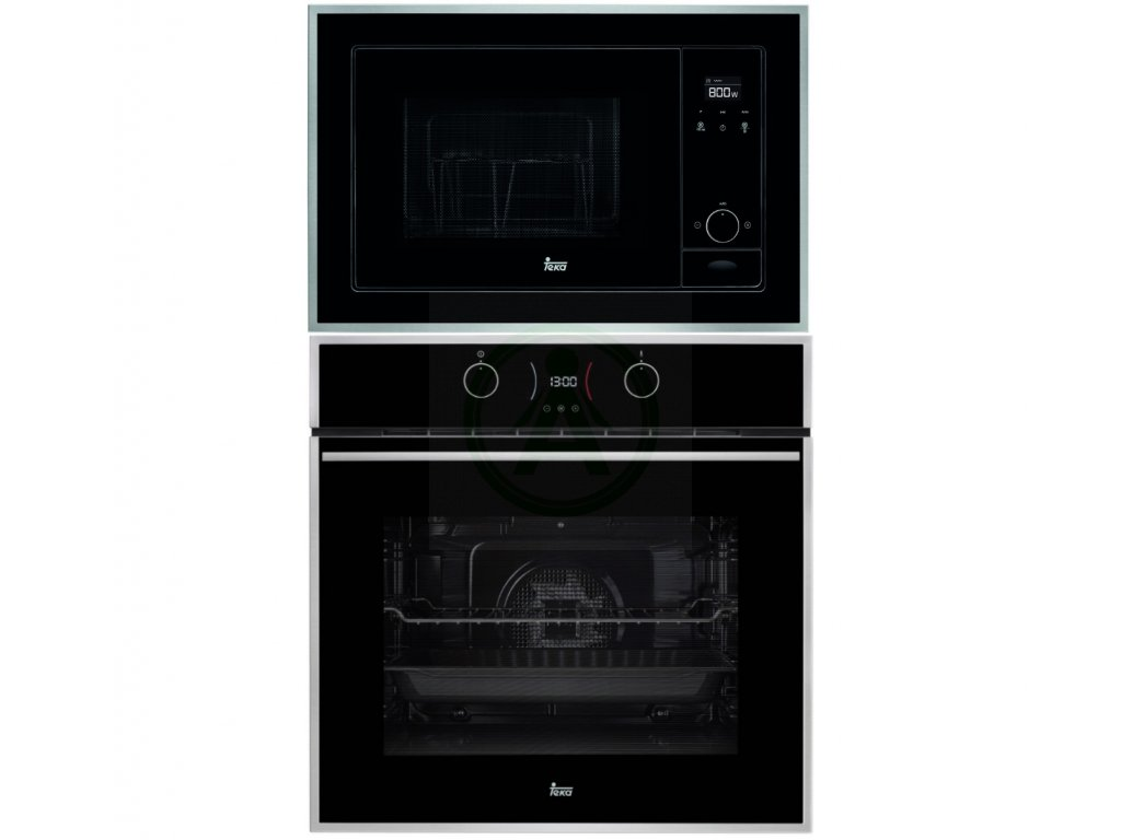 Teka ML 820 BIS + HLB 840 černá vestavný set