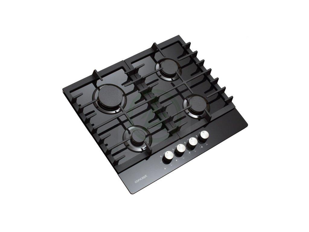 Concept PDV7060 plynová varná deska černá