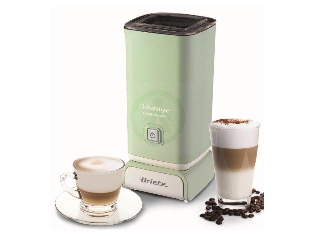 Ariete Vintage Cappuccino, zpěňovač mléka, zelený, 287804