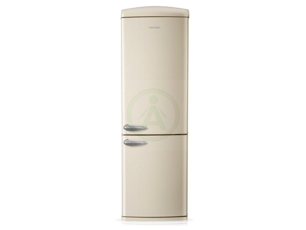 Concept LKR7360 (pravé otvírání) chladnička retro smetanová
