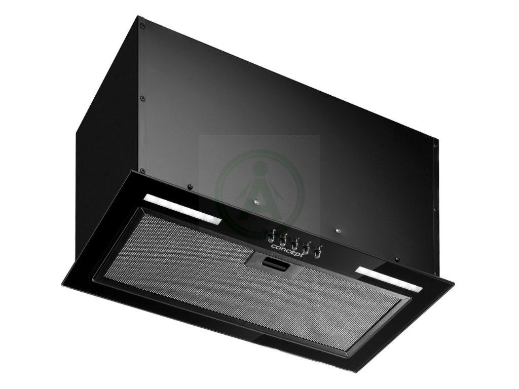 Concept OPI4060bc černý integrovaný odsavač