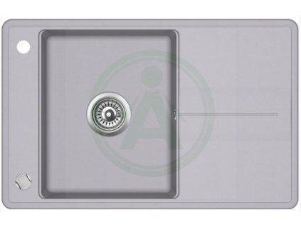 Teka STELA 50 B TQ granitový dřez šedý 1