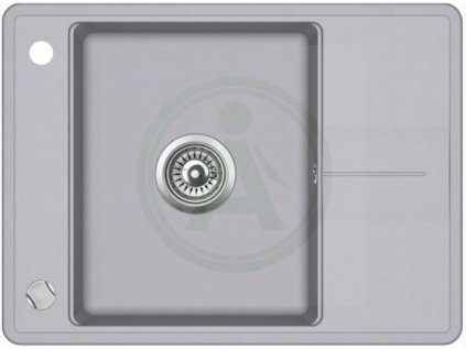 Teka STELA 50 B TQ granitový dřez šedý