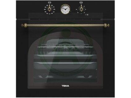 Teka HRB 6300 ATS SILVER rustikální trouba černá