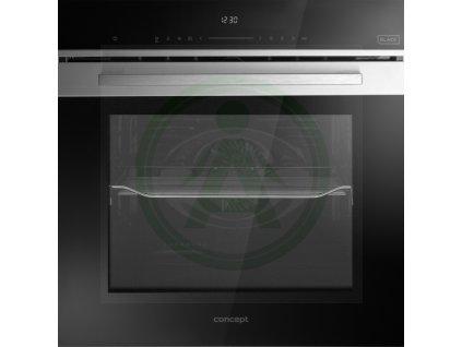 Concept ETV8560bc černá multifunkční vestavná trouba