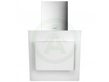 Concept OPK5360wh komínový odsavač bílé sklo
