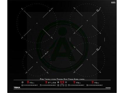 TEKA ITC 64630 BK MST černé sklo + kovový rámeček akce