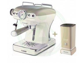 SET Ariete Vintage Espresso 138913 +287803 pěnič