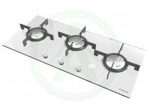 Hoover HGV93SXV W bílá plynová deska