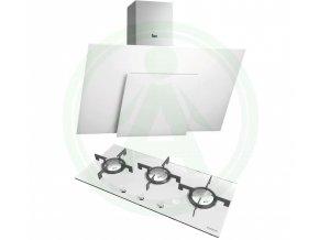 Set Teka set DVS 983 +Hoover HGV93SXV W bílá plynová deska