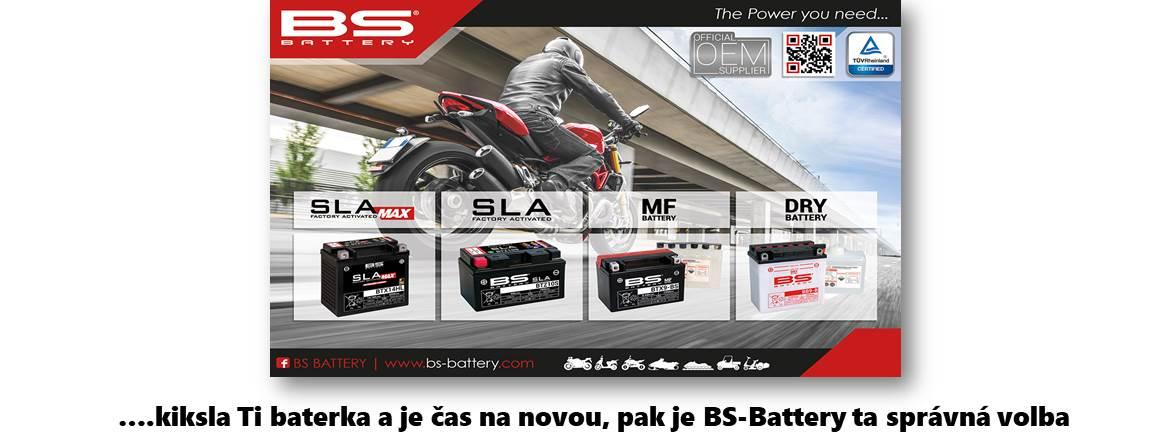 motocyklové baterie