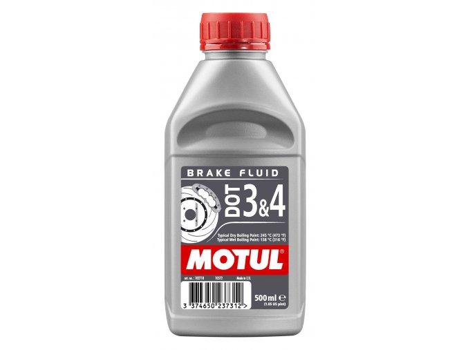 Motul 102718 DOT 3 4 Brake Fluid 500ml