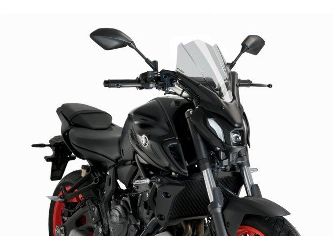 Yamaha MT-07 plexi štít PUIG Touring