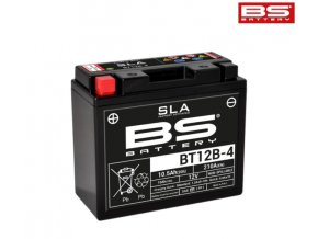 Motocyklová baterie BS-BATTERY BT12B-4 (YT12B-4)