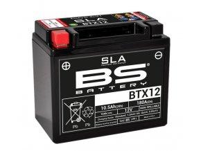 Motocyklová baterie BS-BATTERY BTX12 (YTX12)