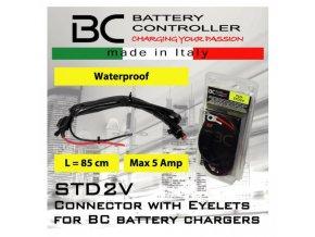 BC Battery zásuvka s očky a pojistkou (STD2V)