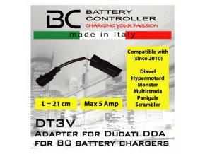 BC Battery propojovací adaptér pro Ducati DDA (DT3V)