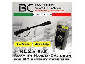 BC Battery propojovací adaptér pro Harley Davidson (HRL12V)