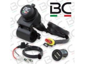 BC Battery palubní nabíječka + USB (P12USBDUAL)