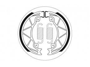 2205 brzdové obložení SBS pro motocykly