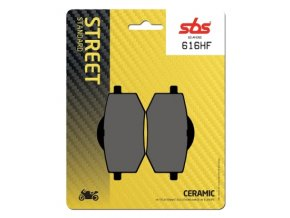 616HF keramické brzdové destičky SBS pro motocykly