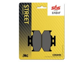 648HF keramické brzdové destičky SBS pro motocykly