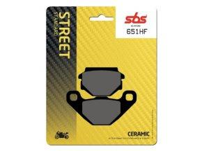 651HF keramické brzdové destičky SBS pro motocykly