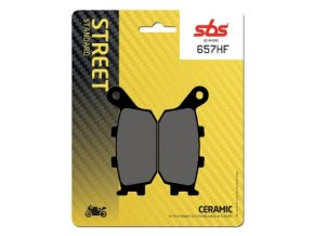 657HF keramické brzdové destičky SBS pro motocykly