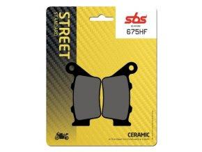 675HF keramické brzdové destičky SBS pro motocykly