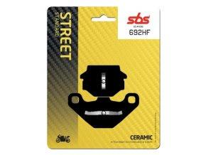 692HF keramické brzdové destičky SBS pro motocykly