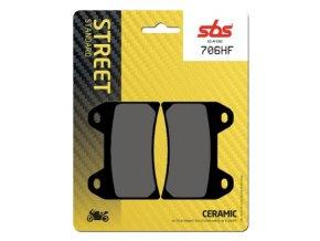 706HF keramické brzdové destičky SBS pro motocykly