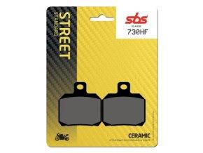 730HF keramické brzdové destičky SBS pro motocykly