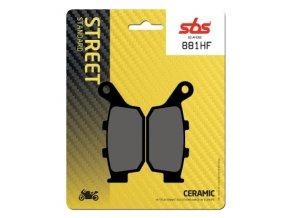 881HF keramické brzdové destičky SBS pro motocykly