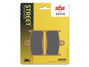 624HS sintrované brzdové destičky SBS