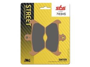 703HS sintrované brzdové destičky SBS