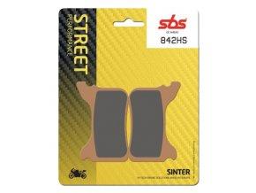 842HS sintrované brzdové destičky SBS