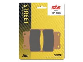 844HS sintrované brzdové destičky SBS