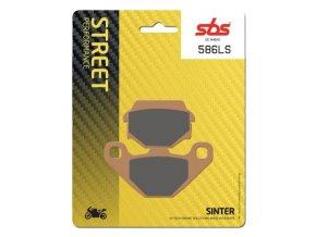 586LS sintrované brzdové destičky SBS